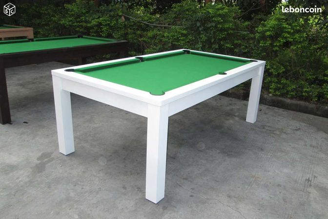 Billard convertible table manger neuf 33 sports for Billard salle a manger