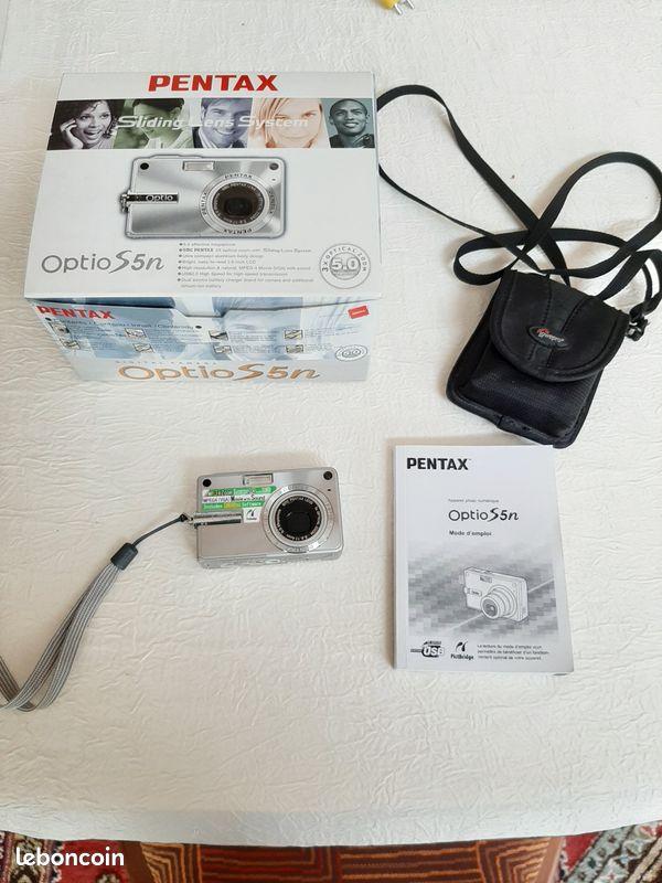 Appareil photo numérique compact pentax opio s5n