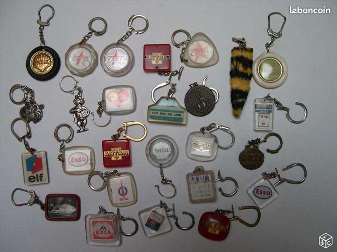 Porte cl s marques essence ann es 50 70 collection for Porte cle annee 60 70