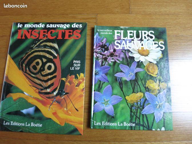 livres sur les insectes et les fleurs sauvages livres. Black Bedroom Furniture Sets. Home Design Ideas