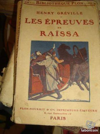 "Livre ancien ""Les épreuves de Raïssa n°10"""