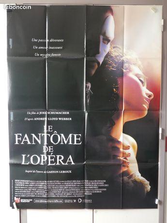 Affiche de cinéma : LE FANTÔME DE L'OPÉRA