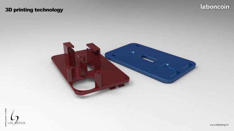 Dessinateur cao - designer 3d - impression 3d (image 2)