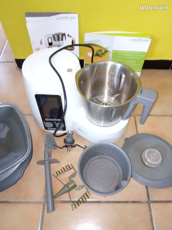 Robot multifonctions super cook