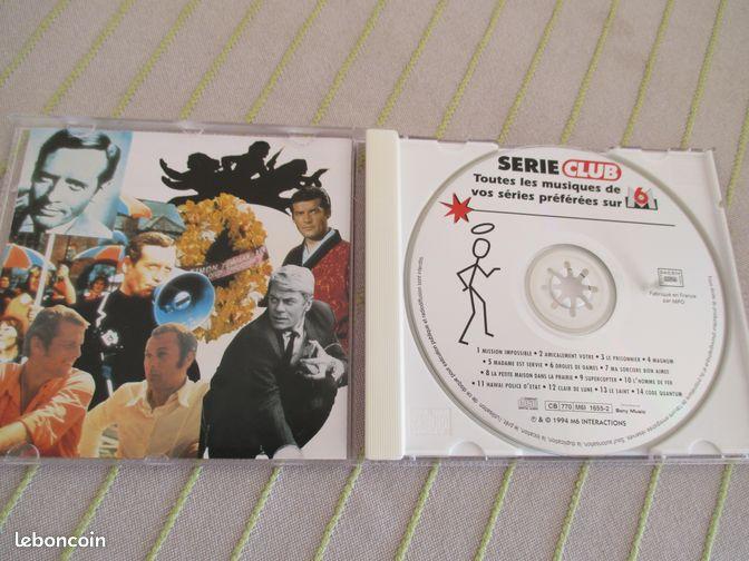 Serie club musiques de vos series preferees cd musique puy de d me lebonc - Mondial relay clermont ...