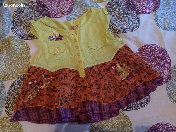 Esprit Ans Shirt Lot Fille 10 T Pantalon Chipie Violet BoWdrCxe