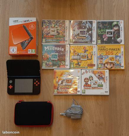 New Nintendo 3DS XL ( 8 jeux)