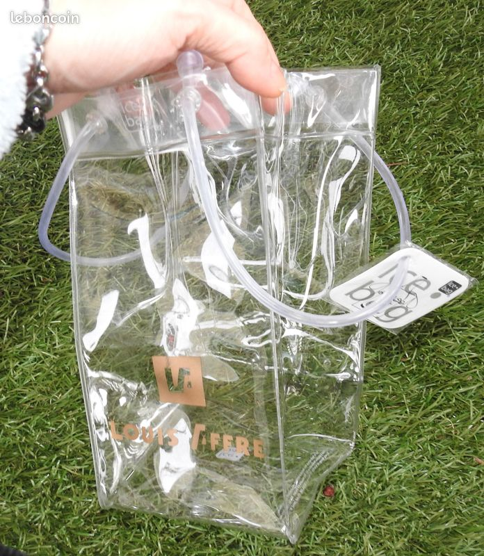 Ice bag transparent