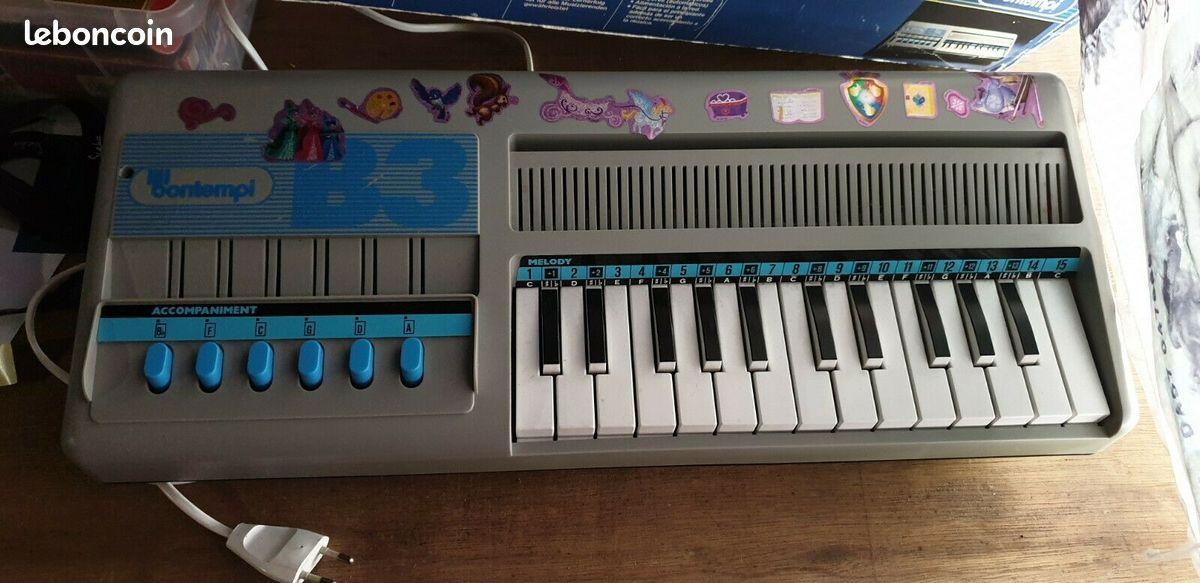 Bontempi b3-enfants orgue avec l'air (ventilateur) à partir des années 70er-
