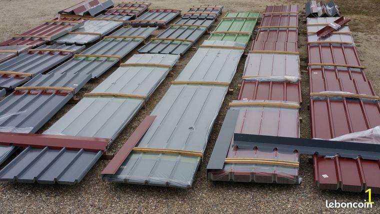pro tole bac acier neuf pour toiture sur mesure bricolage bas rhin. Black Bedroom Furniture Sets. Home Design Ideas