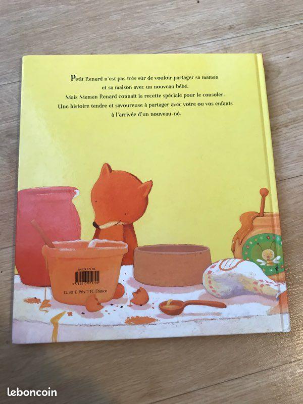 Livre pas de gâteau pour bébé renard gautier-languereau