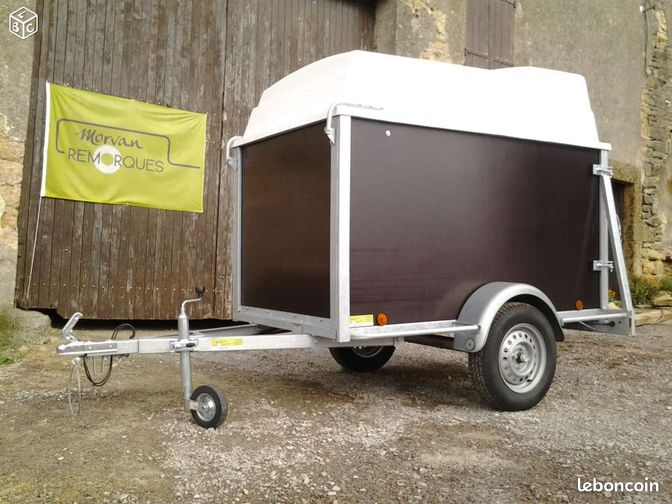 remorque bagag re xl fourgon ptac 750 kg equipement auto ni vre. Black Bedroom Furniture Sets. Home Design Ideas