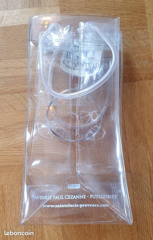 Icebag, sac rafraîchisseur pour bouteille