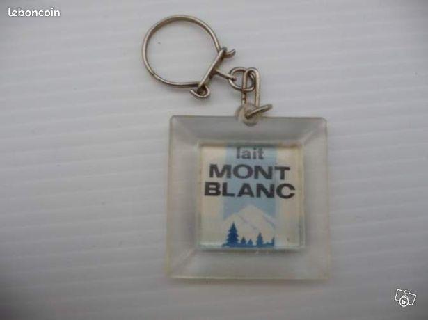 """Porte cle lait mt blanc """" mlca """" 14 a (image 1)"""