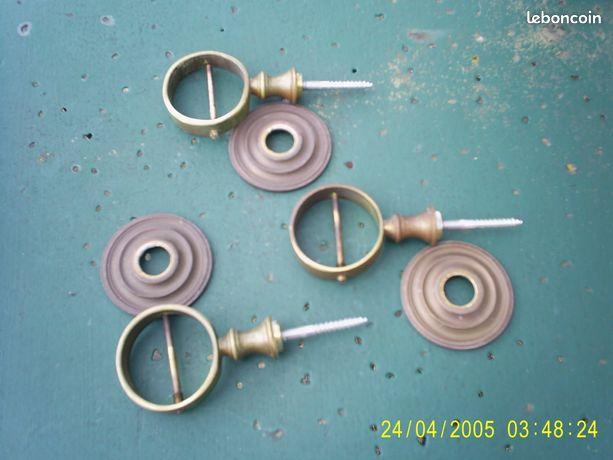 3 anneaux de cordage d escalier en bronze