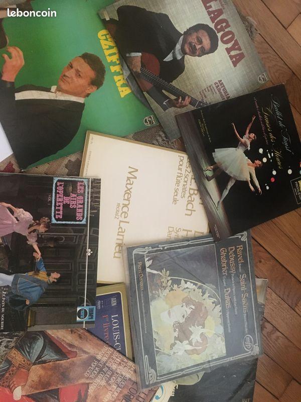 Lot vinyles 33t grande musique classique
