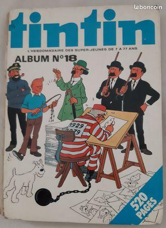 Tintin - Album N°18