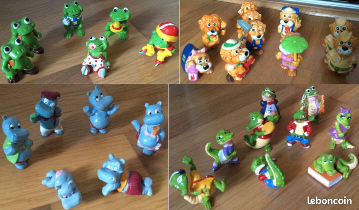 38 figurines kinder surprise