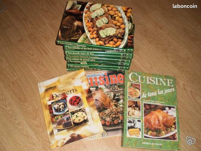 Livres de cuisine annonces d 39 achats et de ventes les for Leboncoin cuisine
