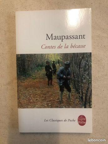 Livre - Maupassant - Contes de la bécasse