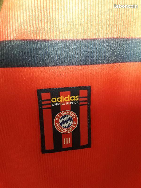 Maillot football bayern''' xl.'''... collector...tbe.... année 99/2000