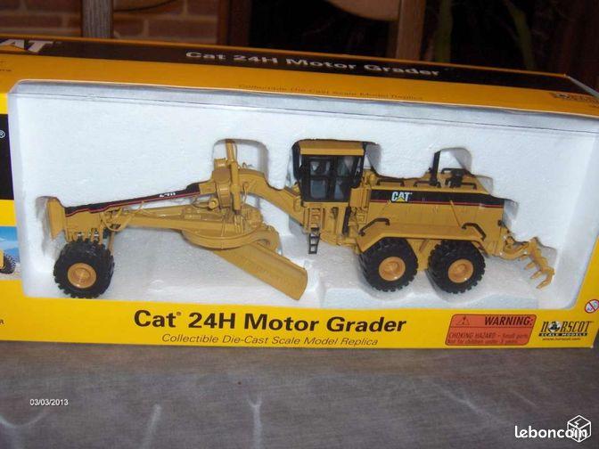 Tracteur cat 24h motor grader collection nord for Cat 24h motor grader