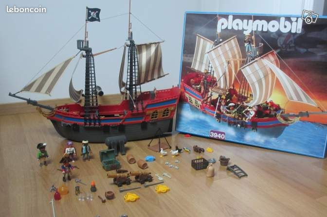 bateau pirate playmobil 3940 jeux jouets nord. Black Bedroom Furniture Sets. Home Design Ideas
