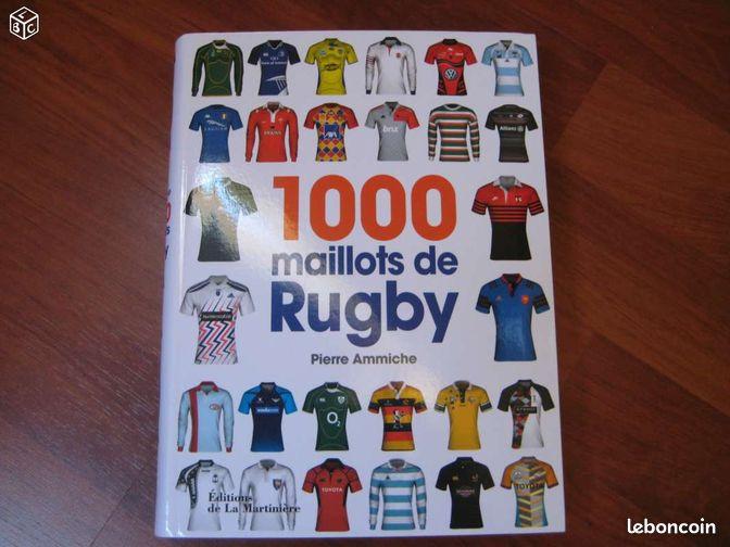 1000 Maillots de Rugby (NEUF) - Tarbes - 1000 Maillots de Rugby Pierre Ammiche Livre neuf Valeur : 19,90 euros Prix de vente : 13 euros (je prendrai à ma charge une partie des frais colissimo si envoi)  - Tarbes