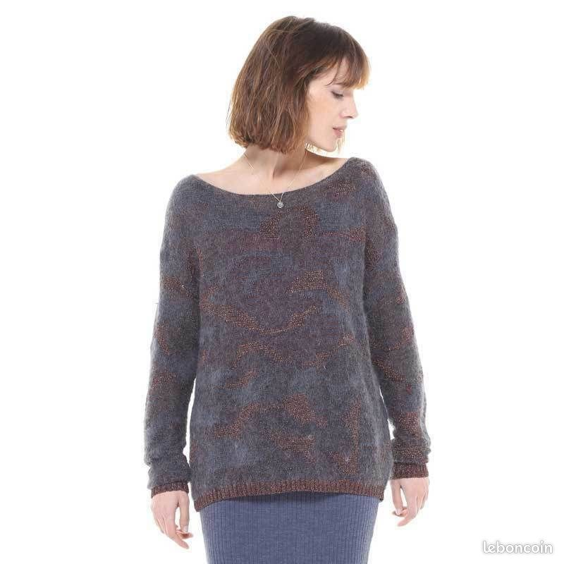 Pull charlise modèle bianca taille l neuf