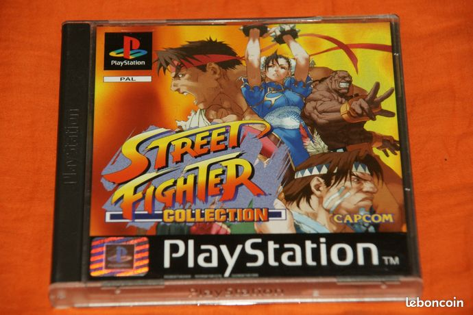 STREET FIGHTER COLLECTION psx