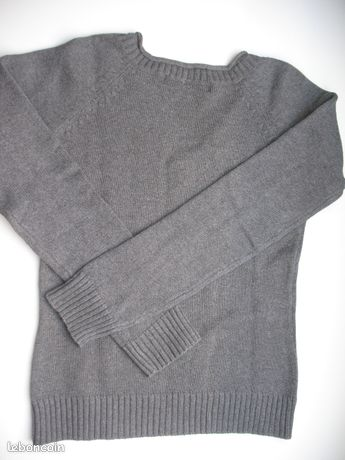 Pull gris Zara Taille S ou 38 (image 3)