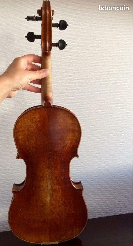 Rare violon ancien 4/4 , xix siècle, hongrie/ luthier