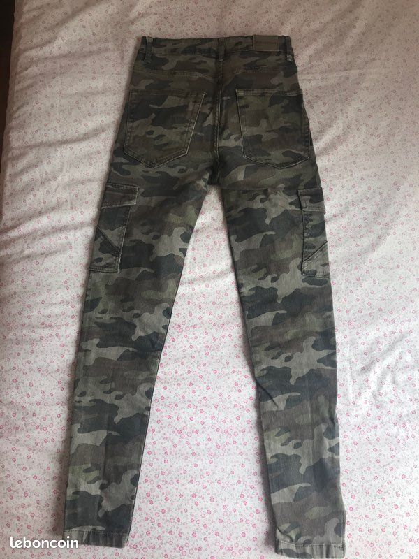 Jean camouflage