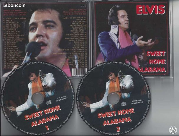 Elvis presley sweet home alabama 02/06/1975-2 cds - Paris - Elvis presley sweet home alabama 02/06/1975-2 cds - Paris