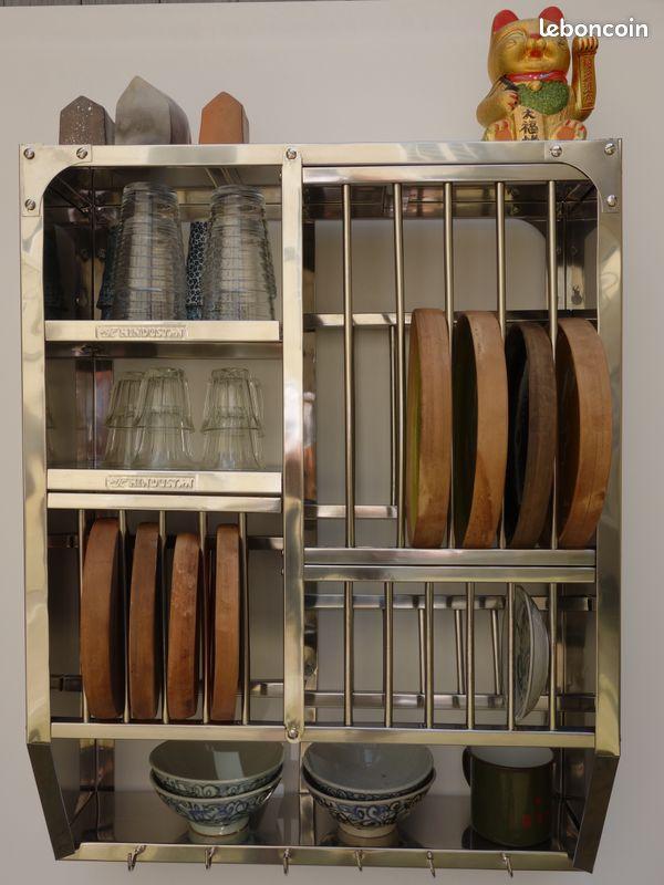 Égouttoir vaisselier Étagères cuisine inde bombay - 76x60 cm neuf