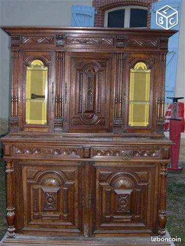 meuble style henri ii ameublement hautes pyr n es. Black Bedroom Furniture Sets. Home Design Ideas
