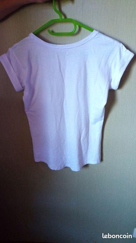 Tee shirt blanc etam t 36