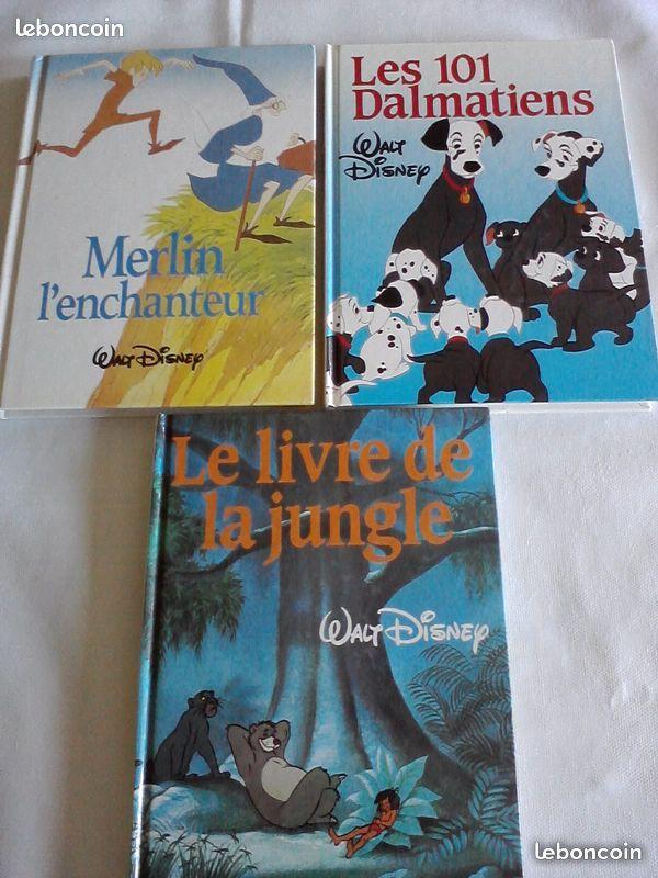 3 livres walt disney ( mika14 )