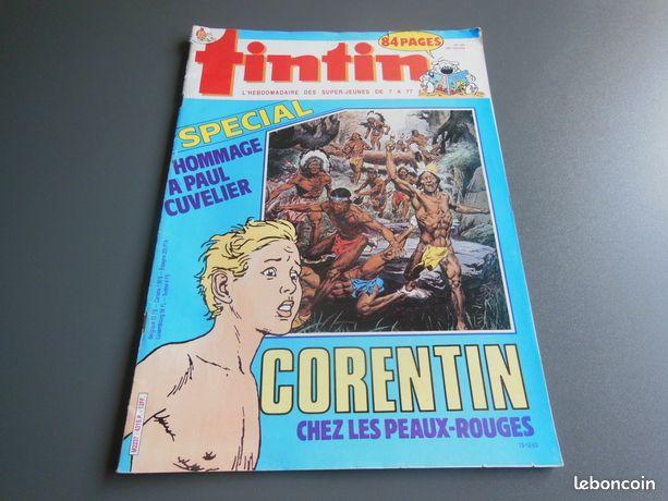 Magazine BD Tintin n° 431 13 décembre 1983 -mjmag - Pessac - Magazine BD Tintin n° 431 du 13 décembre 1983– en très bon état Cette revue est illustrée par des BD (bandes dessinées) Prix du magazine : faire une offre Pour voir mes offres revues tapez mjmag  - Pessac