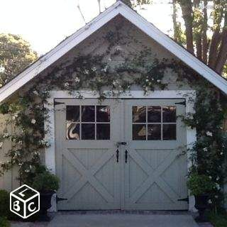 recherche porte de garage en bois bricolage orne