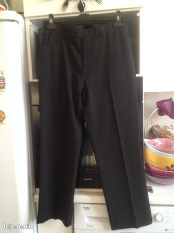 Pantalon noir BRICE T42 (image 1)