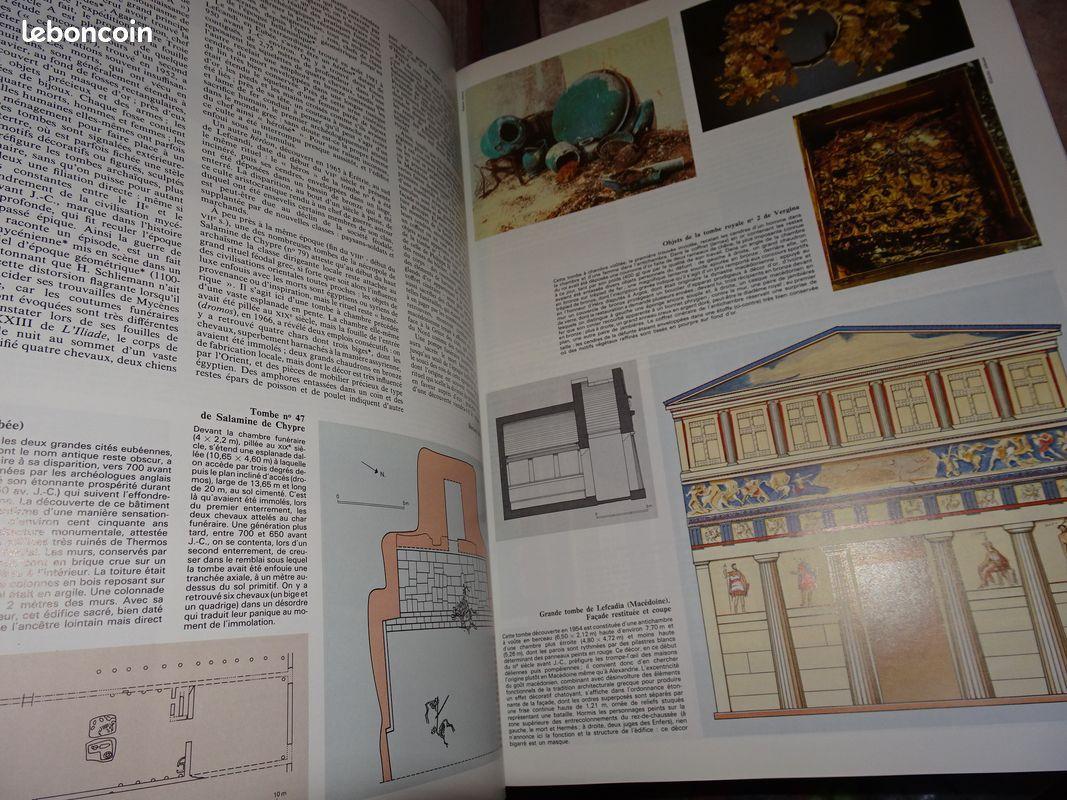Grand atlas universalis archeologie