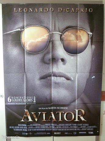 Affiche de cinéma : AVIATOR