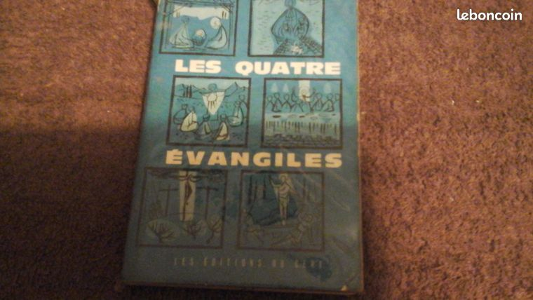 Les quatre évangiles éditions du Cerf (image 1)