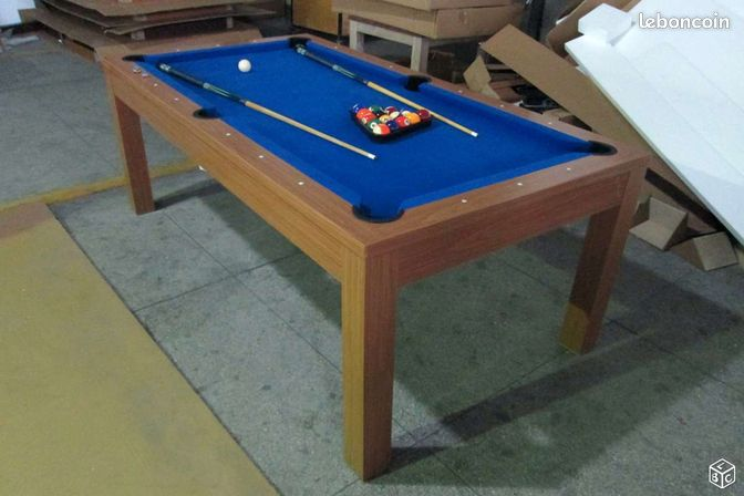 Billard transformable en table neuf 85 sports hobbies vend e lebonc - Billard transformable ...