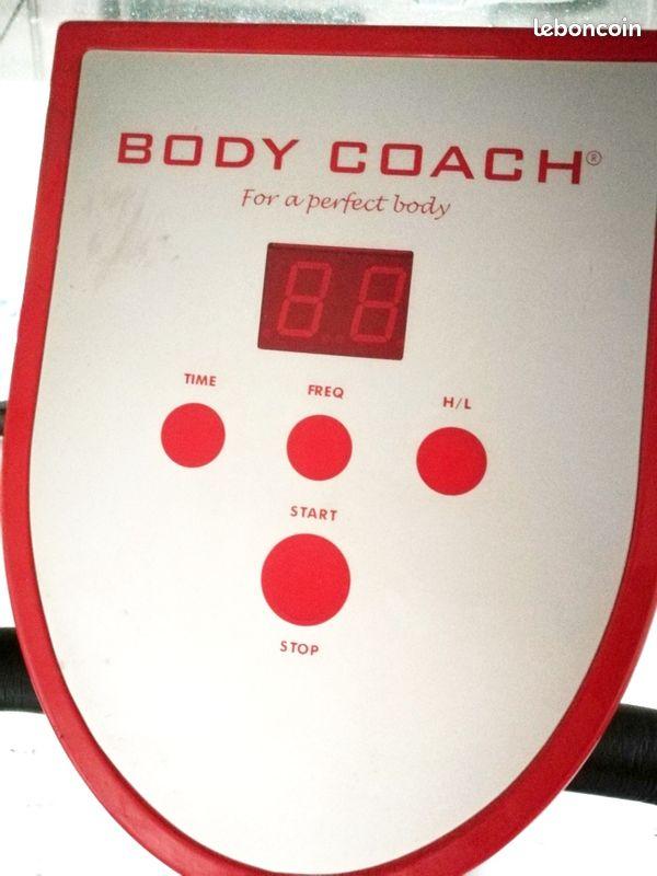 Plateforme vibrante professionnelle power plate body coach fitness - 3 niveaux de vibration