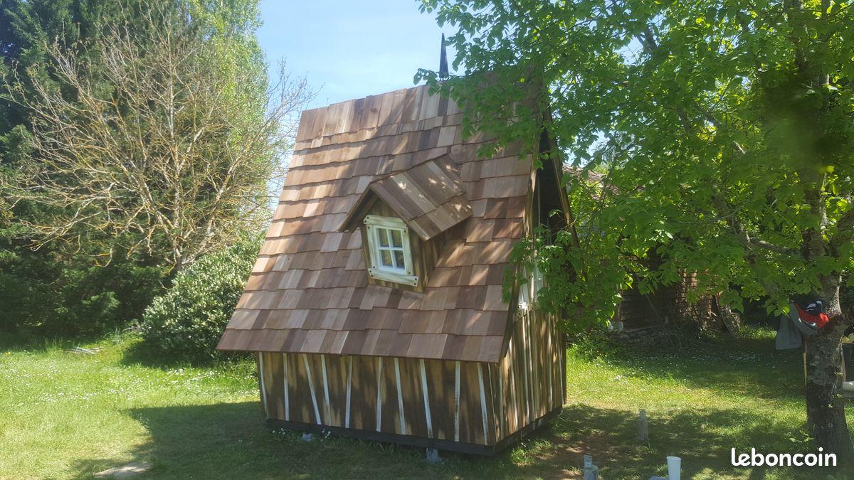 Cabane féerique casa mirabilia drole de cabane