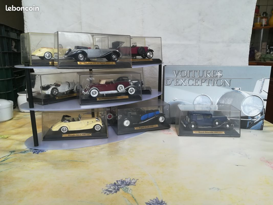 Collection voitures d'exception 1/43 edition atlas