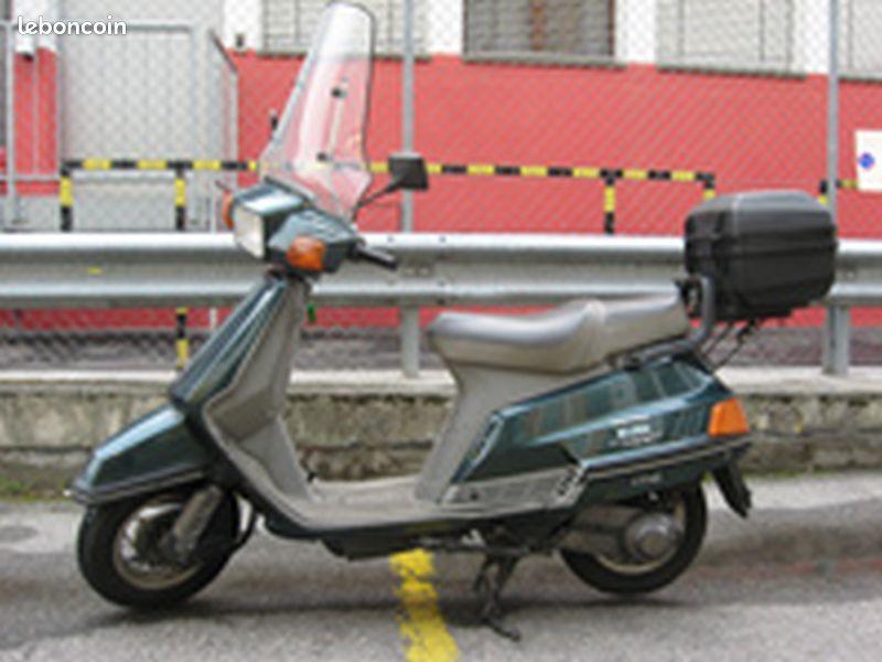 moto yamaha beluga