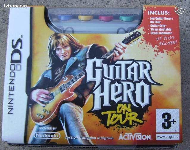 Guitar hero 1 + 2 pour nitendo ds-lite - Valenciennes - Guitar hero 1 et guitar hero 2 neufs pour Nitendo DS (pas la 3DS). Jamais déballés. 15 Euros les 2  - Valenciennes